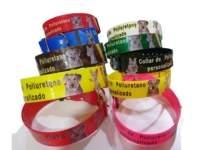 Collar poliuretano personalizado de todos los tamaños animalcomfort